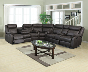 WEEKLY or MONTHLY. Fully Modular Charcoal Couch Set