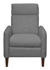 WEEKLY or MONTHLY. Preston Deep Charcoal Press Back Recliner