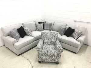 WEEKLY or MONTHLY. Stunning Griffith Couch Set