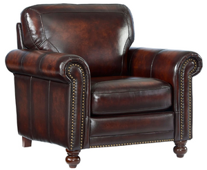 WEEKLY or MONTHLY. Champion Hampton Leather Couch Set