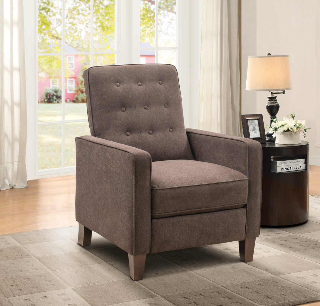 WEEKLY or MONTHLY. Mocha Garden Express Press Back Recliner