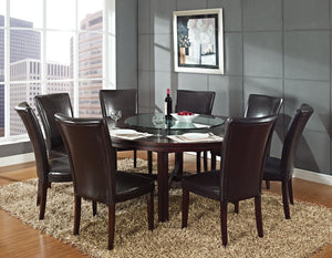 WEEKLY or MONTHLY. Hartford University 72-Inch Round Dining + 8 Chairs