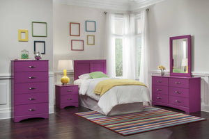 WEEKLY or MONTHLY. Tasty Raspberry Twin/Full/Queen Bedroom Set