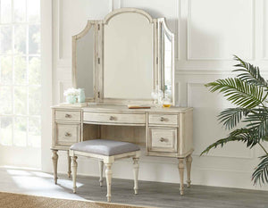 WEEKLY or MONTHLY. Cathedral White Highland Park Complete Vanity Set