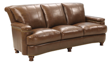 WEEKLY or MONTHLY. Push the Hutton Leather Couch Set