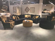 WEEKLY or MONTHLY. Vavoom Ebony Sectional