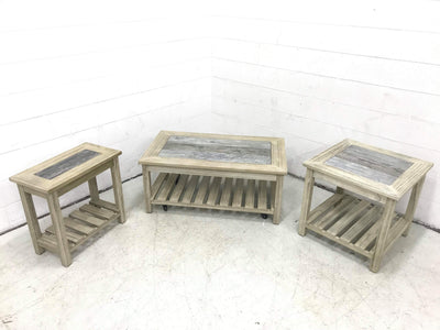 WEEKLY or MONTHLY. Artisan Grey Cocktail Table