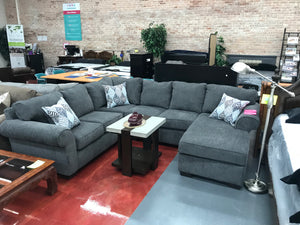 WEEKLY or MONTHLY. 3D Charisma Matrix Sectional with Reversible Chaise