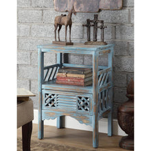 Bali Blue Accent Table