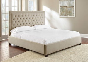 WEEKLY or MONTHLY. Isadora Sand QUEEN Upholstered Bed