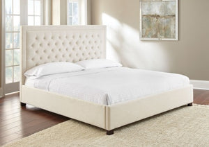 WEEKLY or MONTHLY. Isadora Grey QUEEN Upholstered Bed