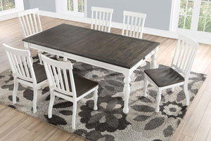 WEEKLY or MONTHLY. Joe and Anna Round Spinner Counter Table & 4 Chairs