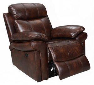 WEEKLY or MONTHLY. Brown Hoplin Joplin Power Recliner