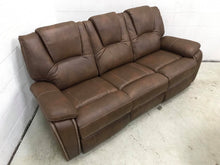 WEEKLY or MONTHLY. Katrine Chestnut Brown Motion Couch Set