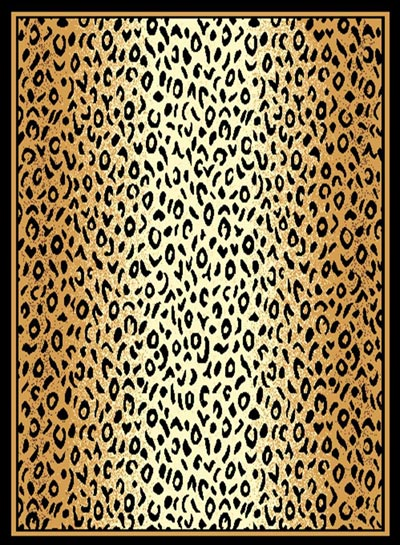 Leopard Skin Faded Rug
