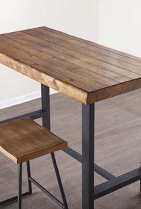 WEEKLY or MONTHLY. Landon Counter Table & 4 Counter Stools