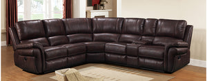 WEEKLY or MONTHLY. Cardinal Sierra Chocolate Modular Sectional