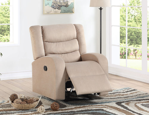 Madeline Sand Manual Recliner