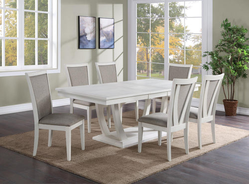 WEEKLY or MONTHLY. Maldives Dining Table and 6 Side Chairs