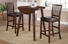 WEEKLY or MONTHLY. Mango Drop Leaf Dining Table +2 Chairs