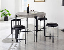 WEEKLY or MONTHLY. Morgan Counter Table & 4 Stools