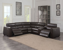 WEEKLY or MONTHLY. Narra Top Grain Leather Sectional