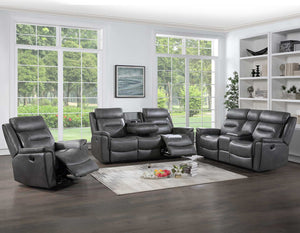 WEEKLY or MONTHLY. Nash Manual Reclining Couch Set