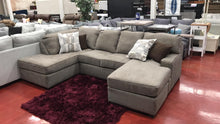 WEEKLY or MONTHLY. Nutty Meg Horseshoe Sectional