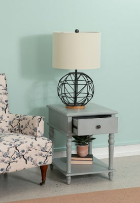 Grey Pike Side Table