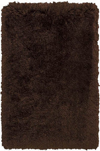 RED Polar Fur Rug 5 x 7