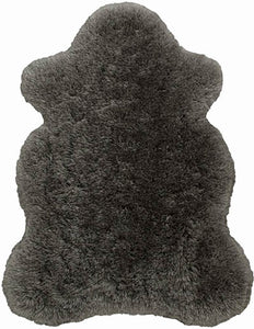 CHOCOLATE Polar Fur Rug Bear Shape