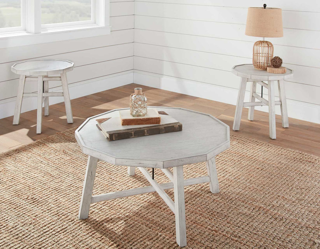 WEEKLY or MONTHLY. Paisley Cocktail Table & End Table