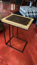Exotic Crisscross Chairside Micro Table