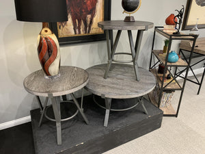 Portland Round Cocktail Table
