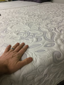WEEKLY or MONTHLY. Purple Passion Queen Mattress
