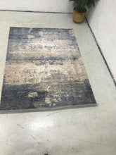Stone Washed Blue Rug