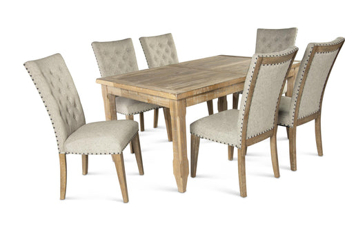 WEEKLY or MONTHLY. Riverdale Dining Table & 6 Nailtrim Chairs