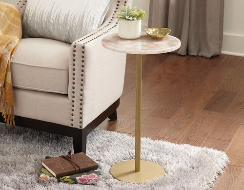 Rosy Pink Side Table