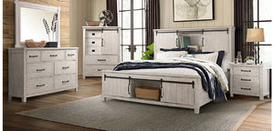 WEEKLY or MONTHLY. Scotty White Bedroom Set