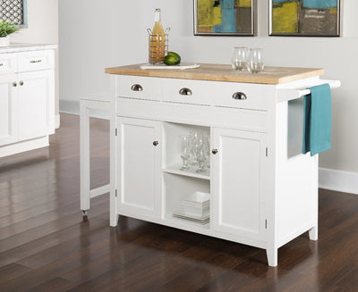 WEEKLY or MONTHLY. Sherri Kitchen Cart
