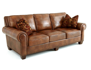 WEEKLY or MONTHLY. Silverado Leather Couch Set
