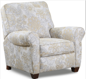 WEEKLY or MONTHLY. San Marino Citron High Leg Recliner