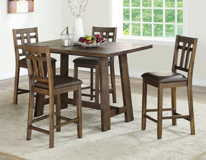 WEEKLY or MONTHLY. Saranac Dining Counter Set
