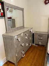 WEEKLY or MONTHLY. Scottie Gray Bedroom Set