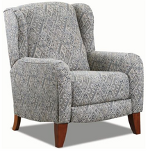 WEEKLY or MONTHLY. Liam Prussian High Leg Recliner