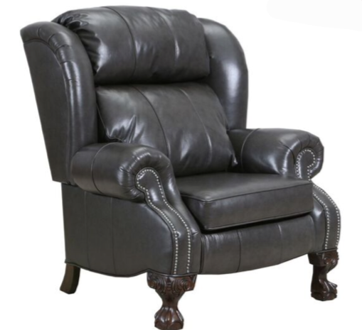 WEEKLY or MONTHLY. Sundance Charcoal High Leg Recliner