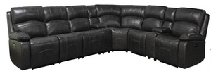 WEEKLY or MONTHLY. True Deep-Sleep Leather Sectional