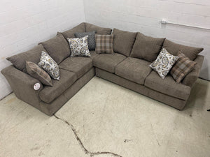 WEEKLY or MONTLY. Sophie Taupe with Queen Sleeper Sectional