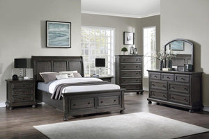 WEEKLY or MONTHLY. Deep Brown Spencer Bedroom Set