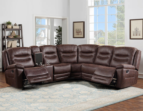 WEEKLY or MONTHLY. Stanson Manual Reclining Sectional